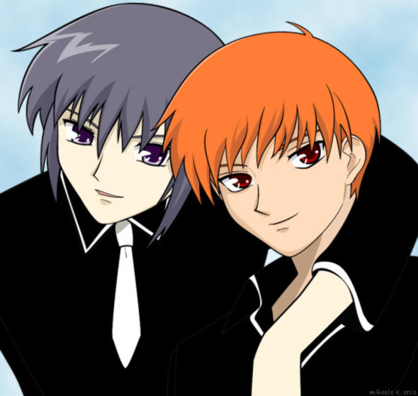 Fruits Basket Kyo And Yuki Fighting Best Friends - Yuki an...