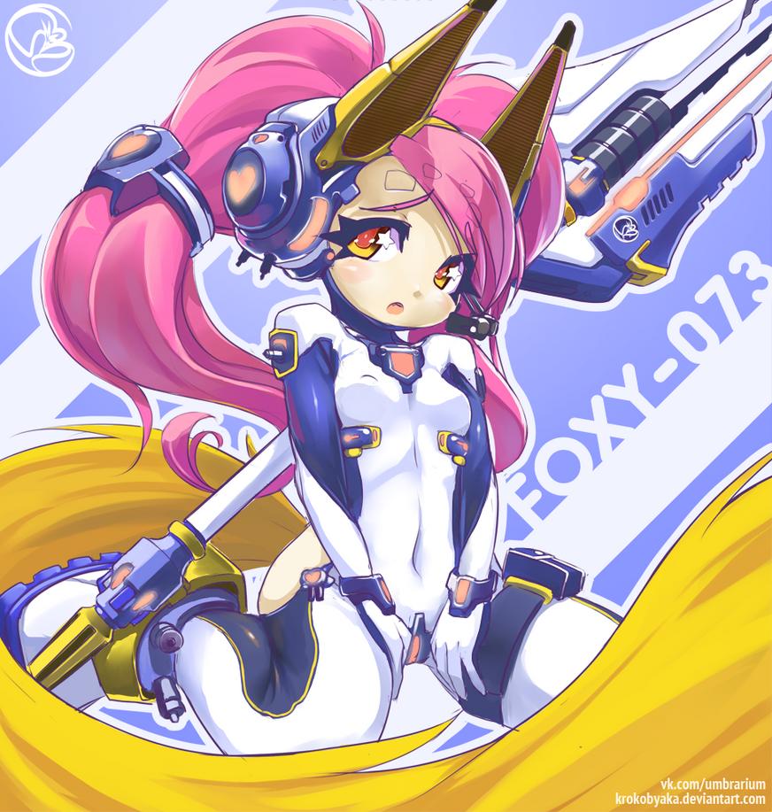 Foxy by Krokobyaka