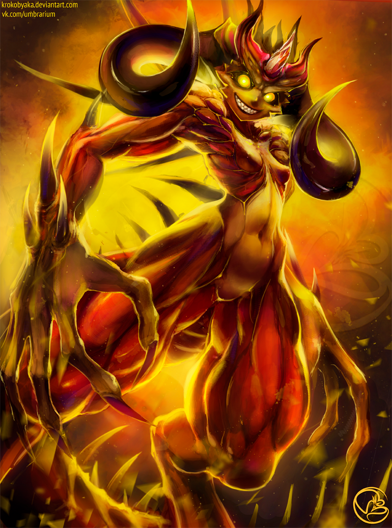 Diablo by Krokobyaka