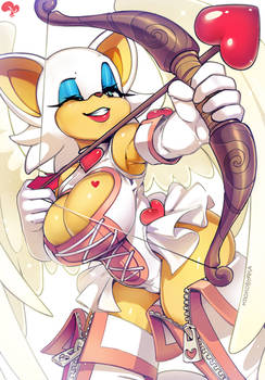 Rouge the Cupid