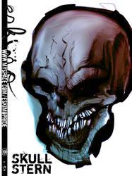 doug's tattoo stern skull