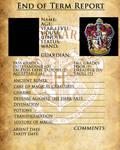 Gryffindor Report Card