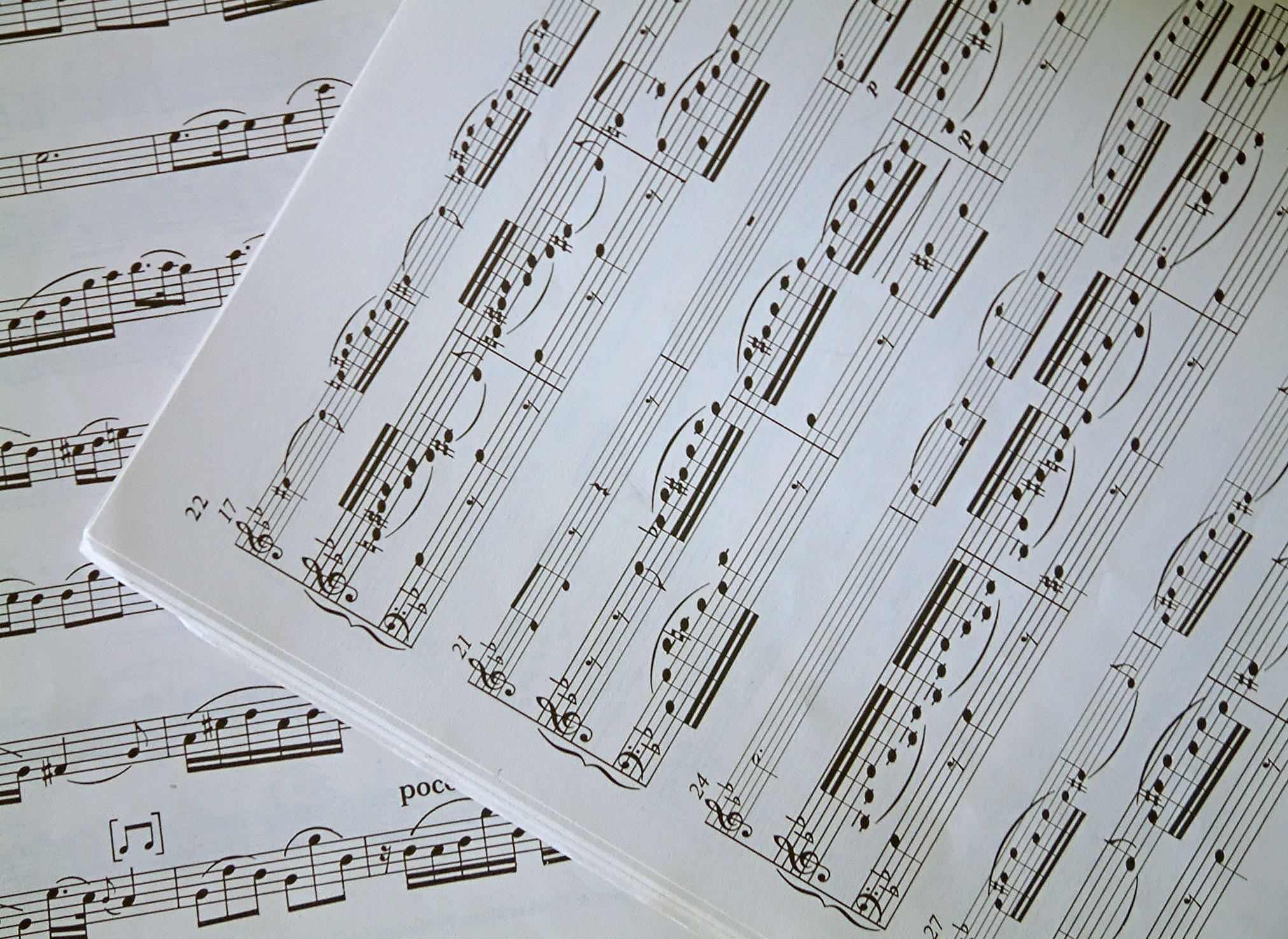 sheet music 2 wallpaper - photo #36