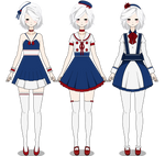 Red white and blue just this (Clothes+Hair Export)