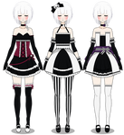 Formal Dresses ( Gothic Version )