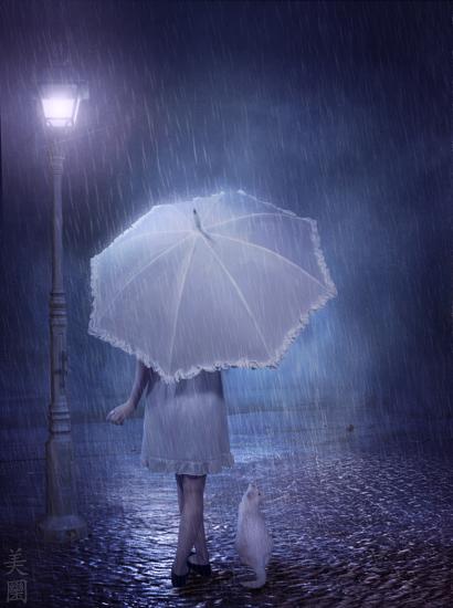 Rainy Night by MeeranUhm