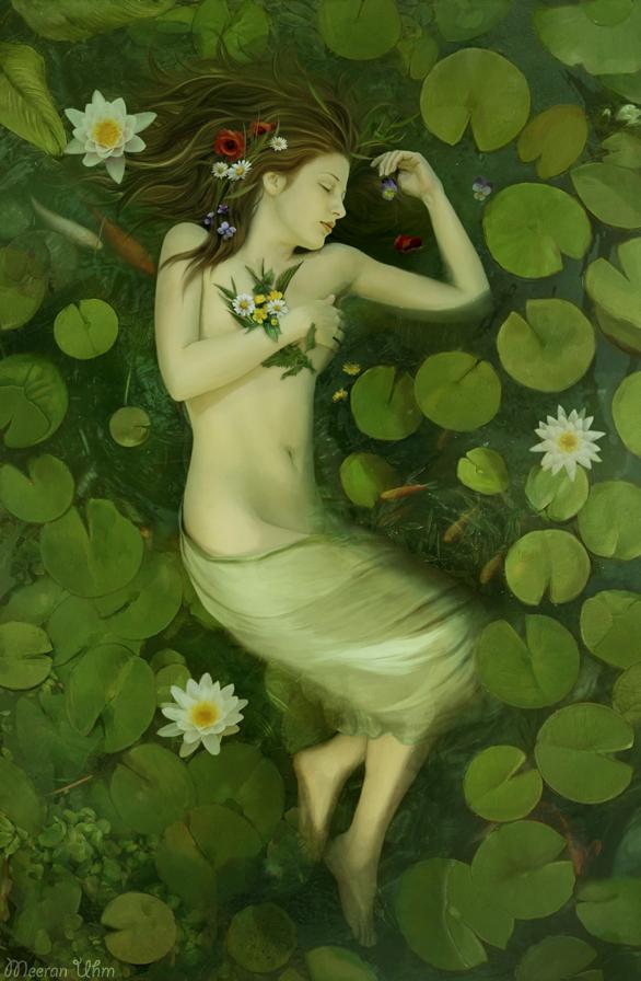 Ophelia by MeeranUhm