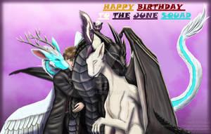 Happy birthday to the june squad