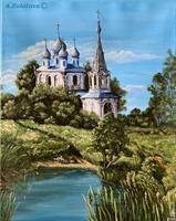 Ountry Church by AnnaZLove
