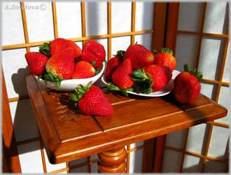 Fresh strawberries 2 by AnnaZLove