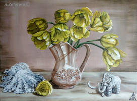 Yellow Tulips by AnnaZLove