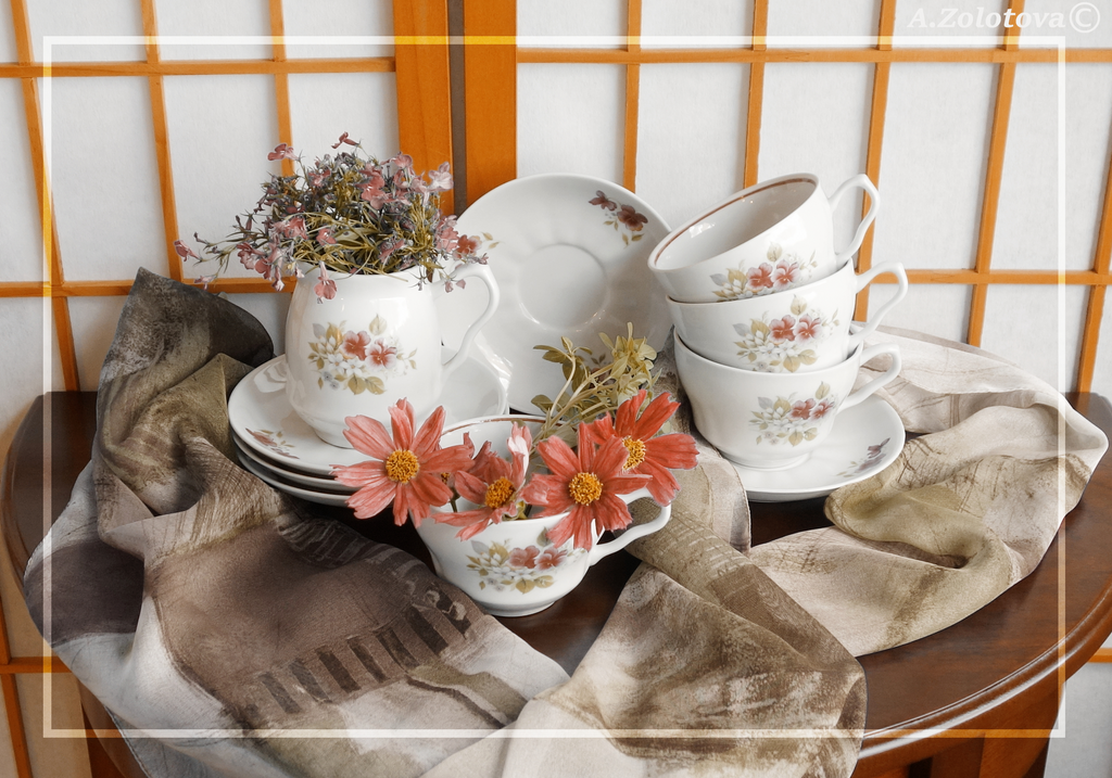 Summer tea set 5 by AnnaZLove