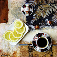 Black coffee with Lemon 1 by AnnaZLove