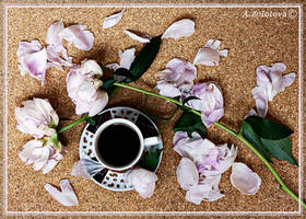 Silk petals and Black coffee by AnnaZLove