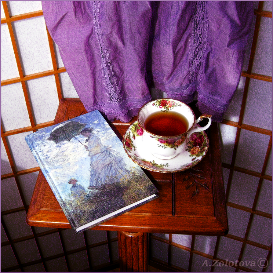 The cup of tea by AnnaZLove