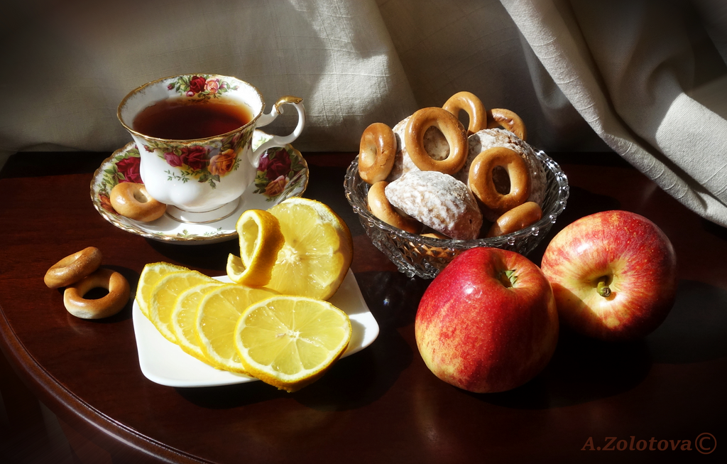 Russian Tea party1 by AnnaZLove