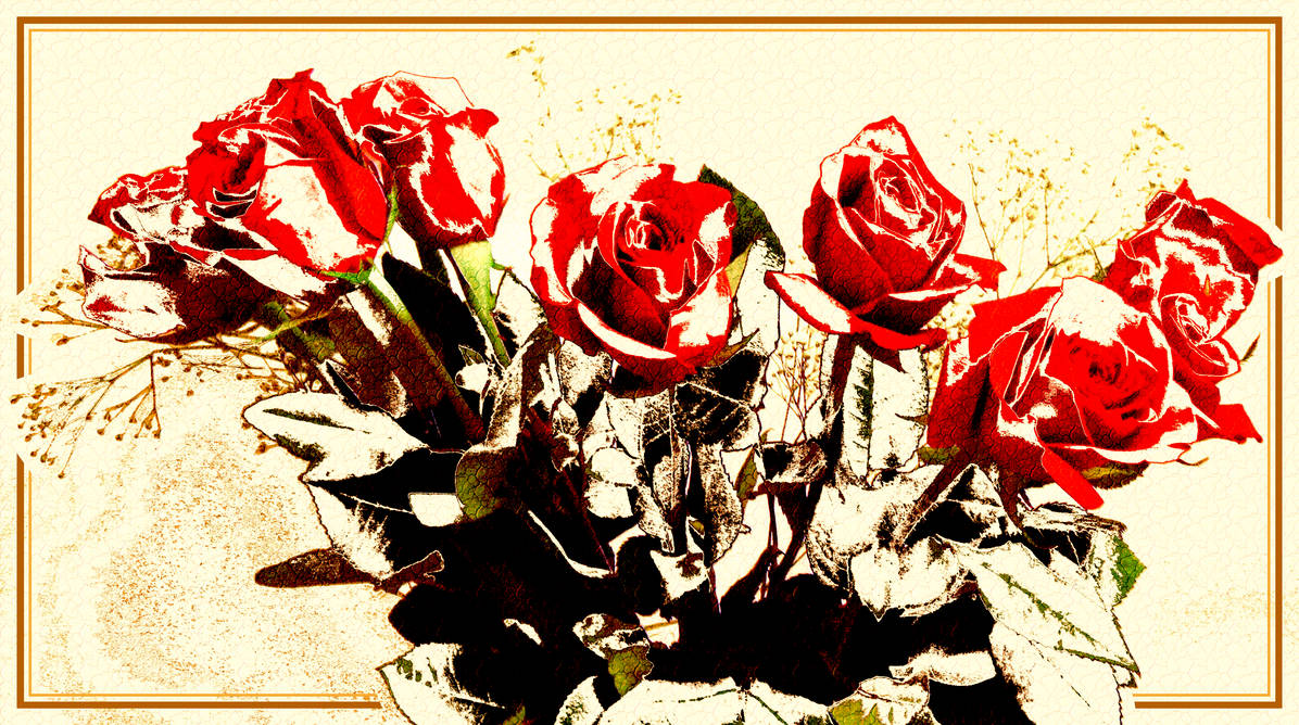 Red Roses by AnnaZLove