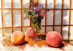 Three sweet Peaches 1