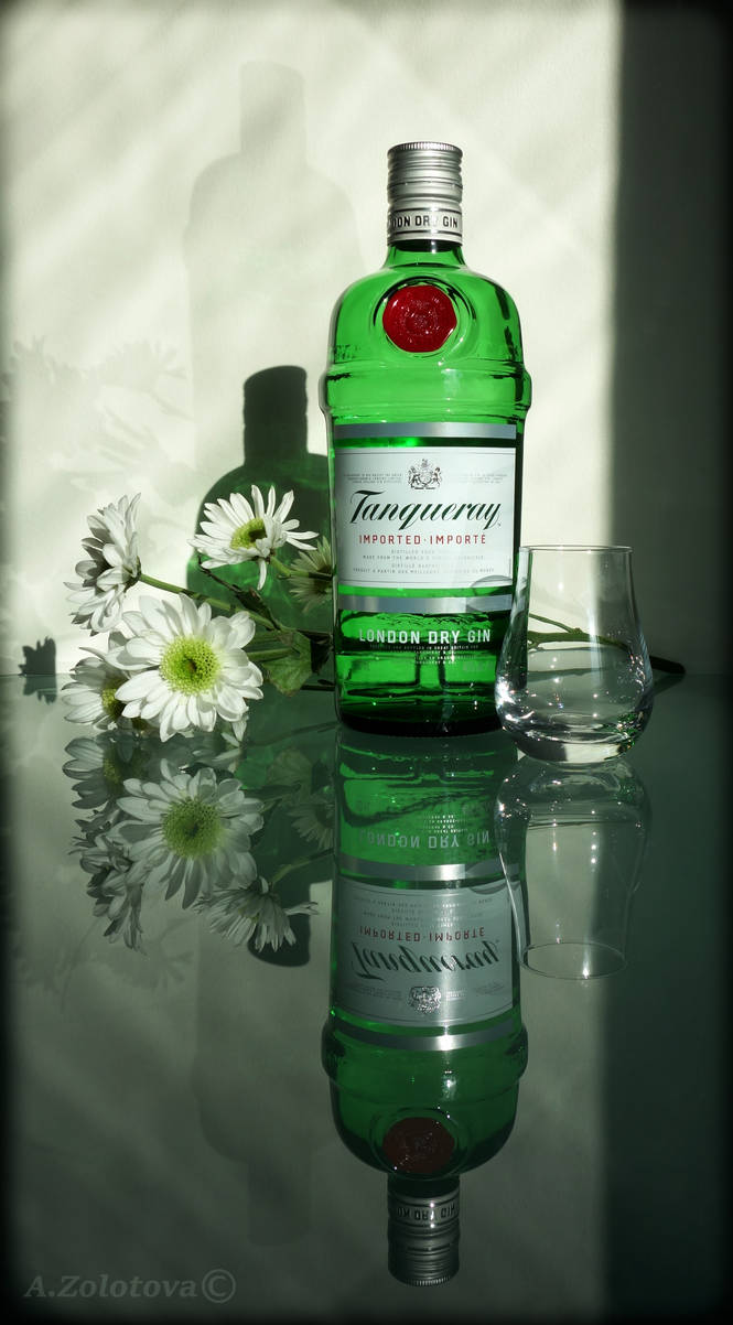Fresh taste of London dry gin 1