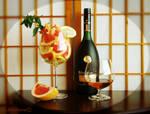 Cognac, grapefruit, mint 3