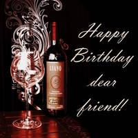 Happy Birthday dear friend. The blizzard-LIANO. Wh