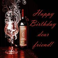 Happy Birthday dear friend. The blizzard-LIANO. Re