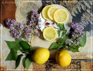 Lilac and lemons 4