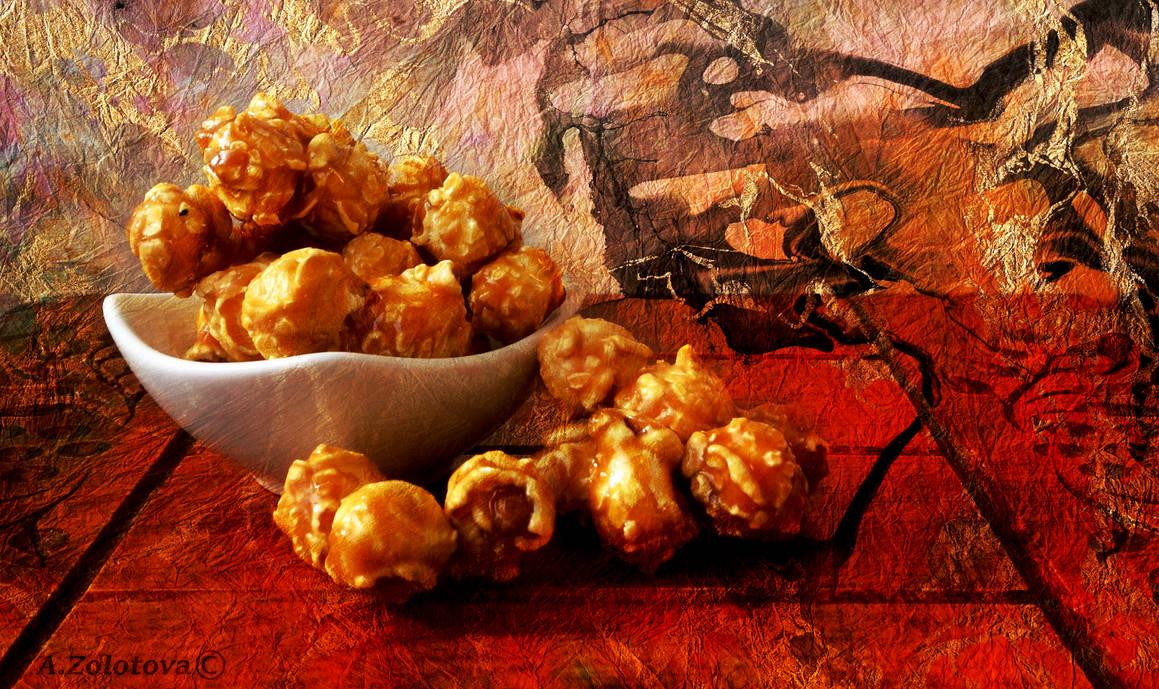 Sweet popcorn 1
