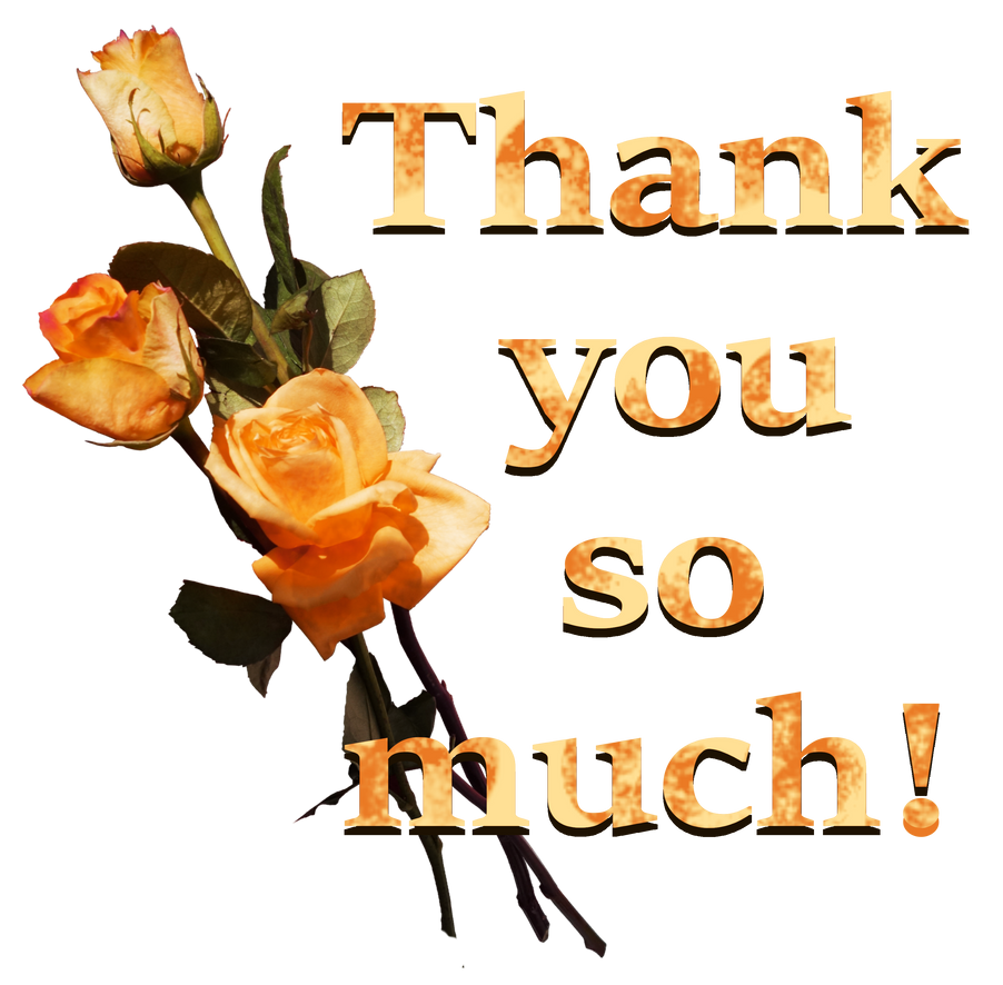 Thank you so much. Three roses  3
