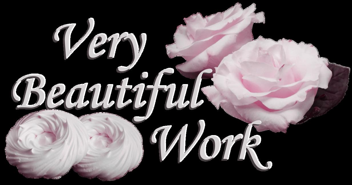 Very Beautiful Work. Roses and meringue 3