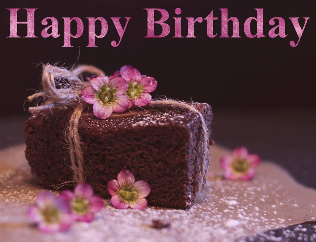 Happy Birthday. Brownie