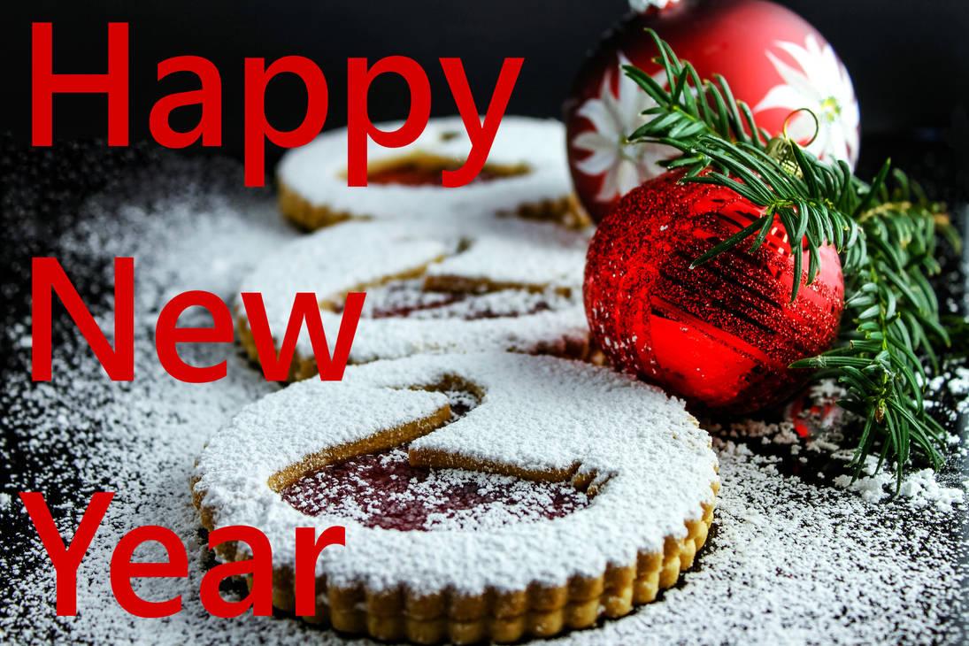 Happy New Year. Cookies