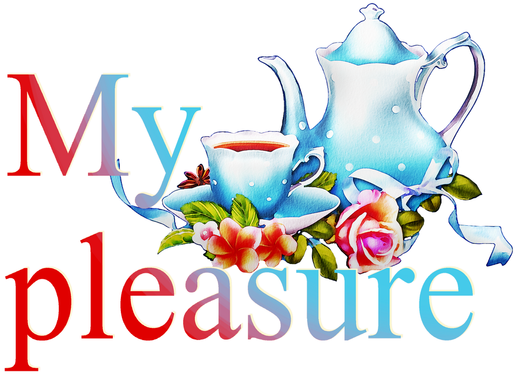 My pleasure. Still life with teapot and flowers