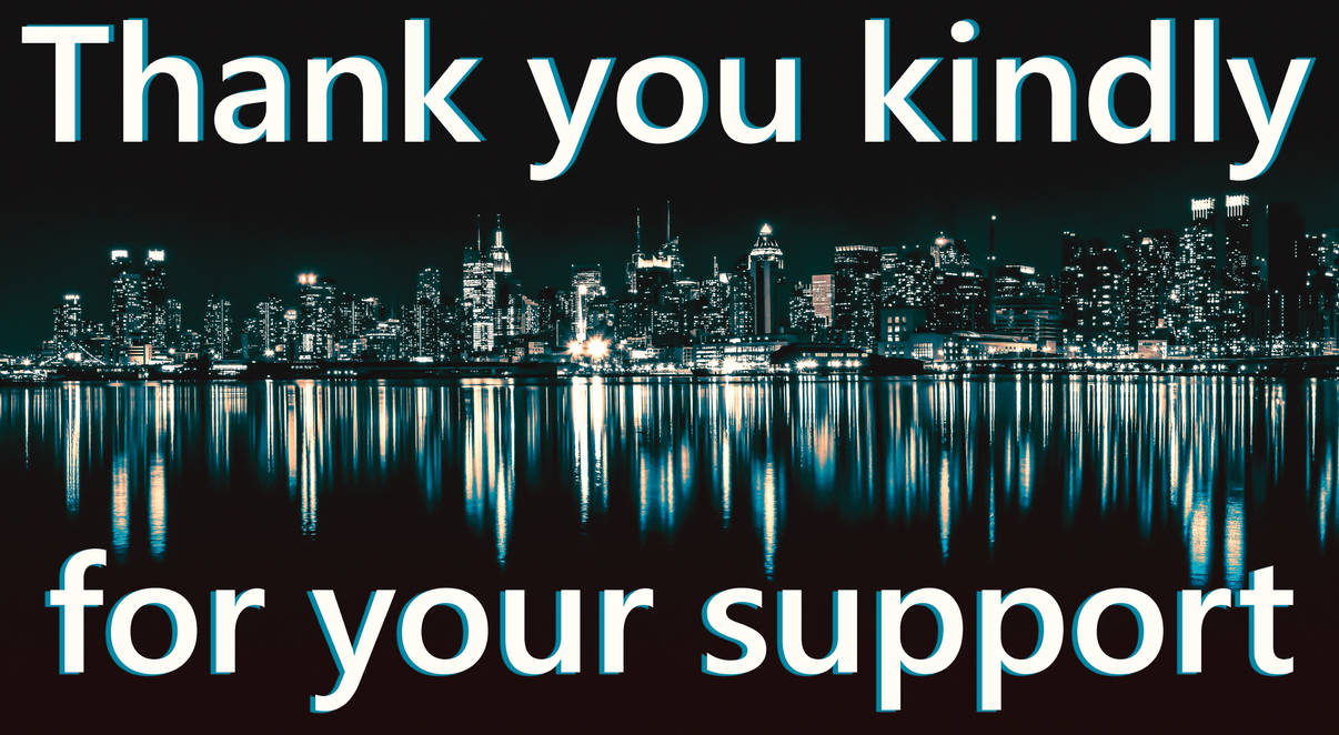 Thank you kindly for your support. Night city