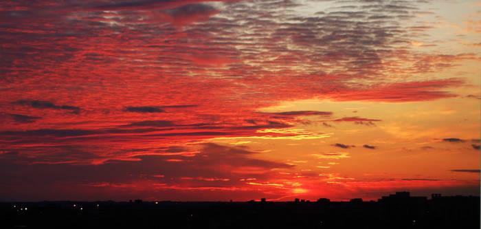 Spectacular sunset 3. Original