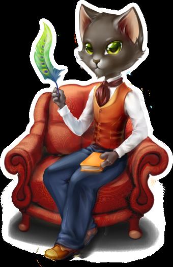 Cat Baron by Rigivar