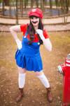 Super Mario (female) by shanayacosplay