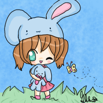 Cute Chibi Bunny Girl By Kiwikoala1 On Deviantart