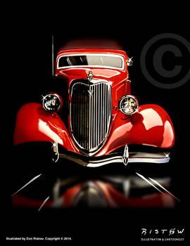 Red Car Di F
