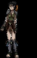 Syn Mahariel - Dalish Elf Warden by IgnisSorceressFA