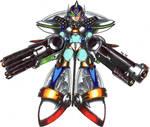 Mega man x full armor form