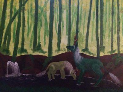 Kirins  by Wolfsongamp