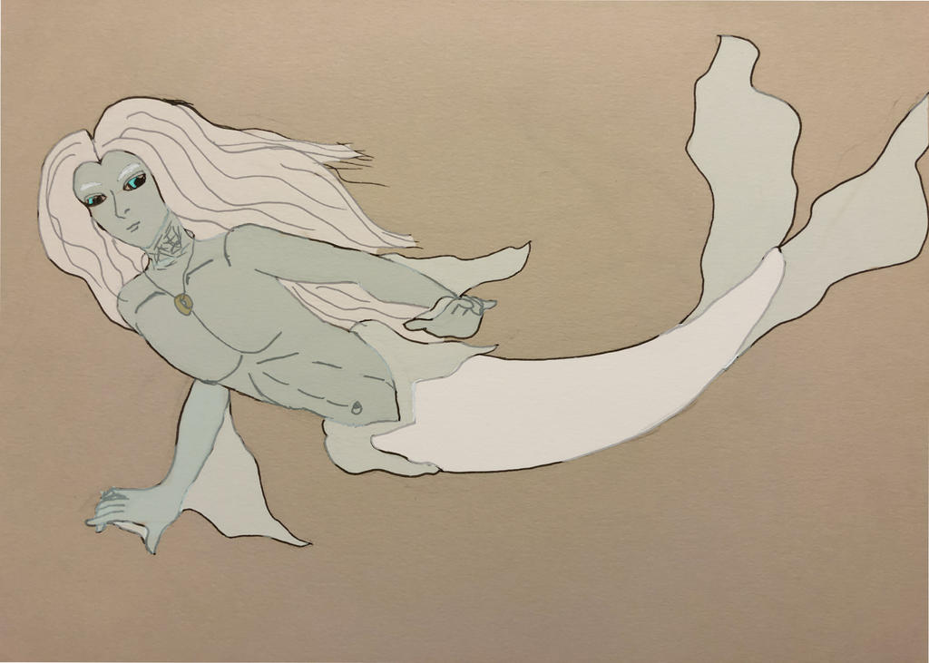 Arie the Merman by Wolfsongamp