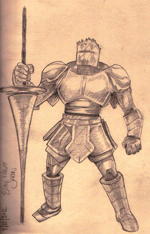 Jarvan Pencil Sketch by apcMurray
