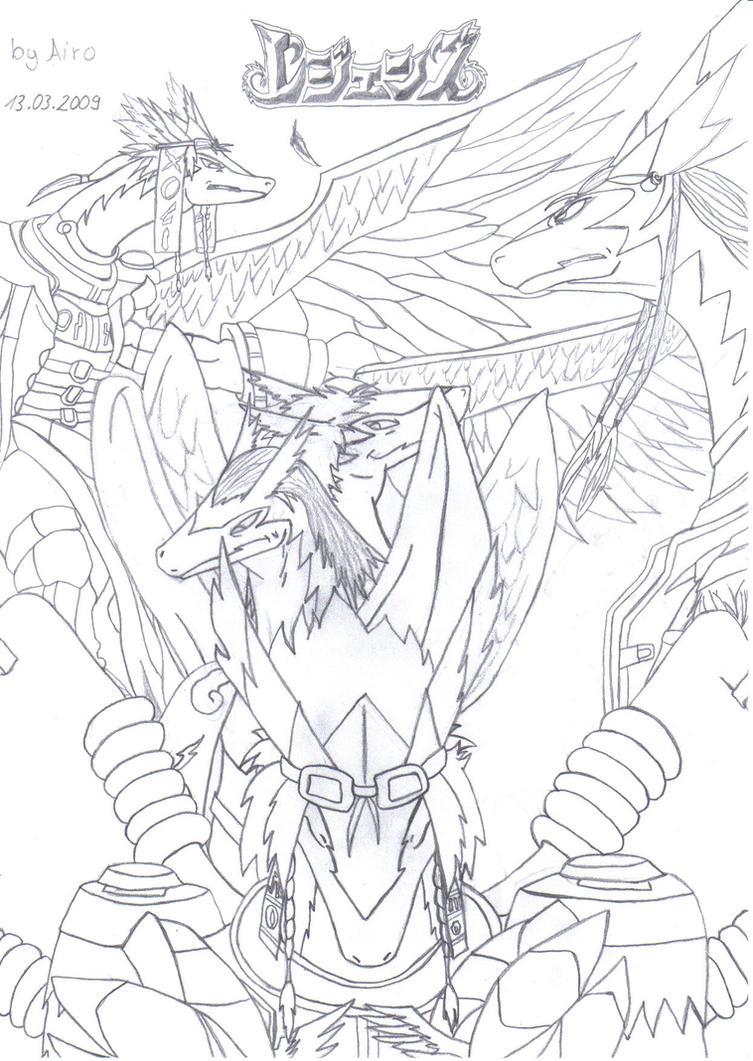 Legendz The Windragon Warrior by Airodishiin