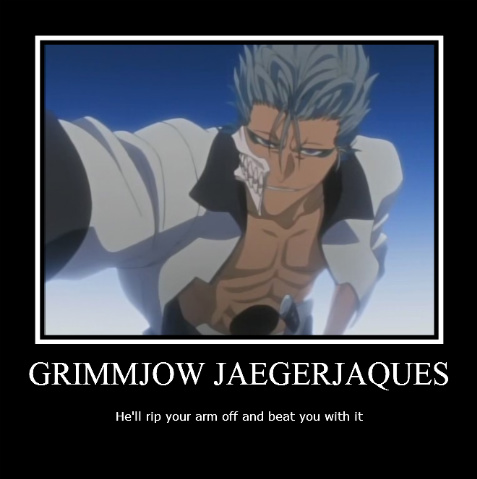 Kuro  Grimmjow Jeagerjaques Release Form