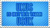 UKUS is better than USUK_ Stamp by Ribbylicious