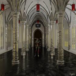 The Banshee Queen in Gilded Chapel