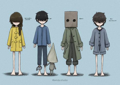 Little Nightmares Character Study