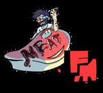 Meat.FM Logo. by Dustiletto29